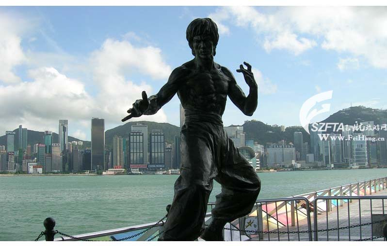 香港星光大道,李小龙雕塑