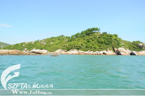 巽寮湾三角洲岛旅游攻略