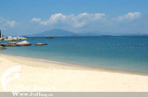 惠东巽寮湾三角洲岛旅游攻略