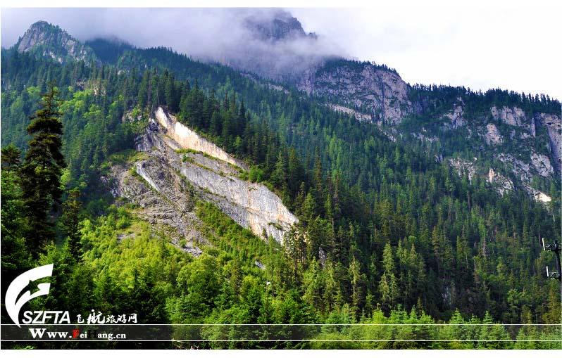 九寨沟日则沟原始森林