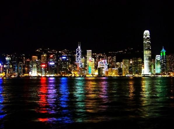 香港夜景 香港旅游