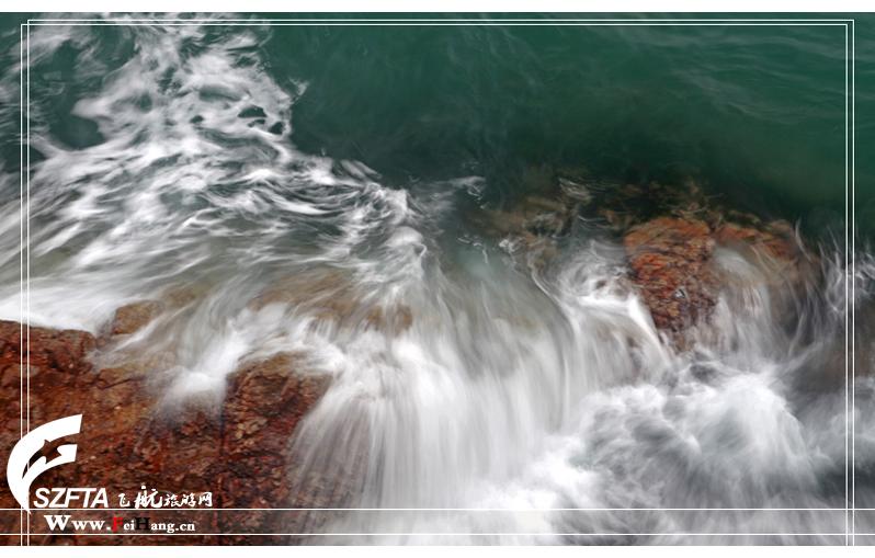大梅沙海水