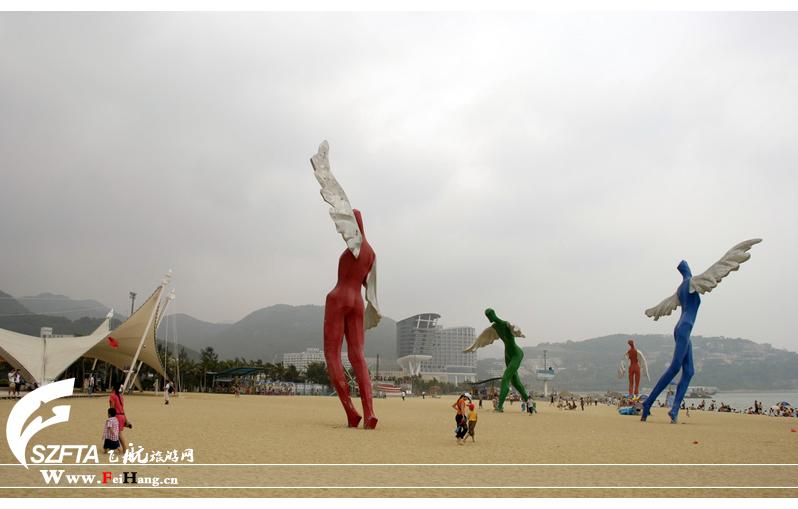 大梅沙海滨公园雕像