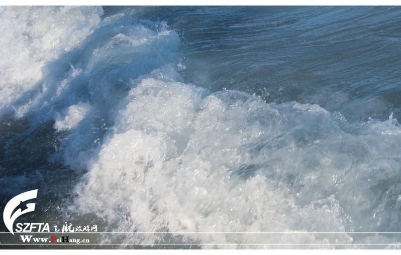 大梅沙海浪