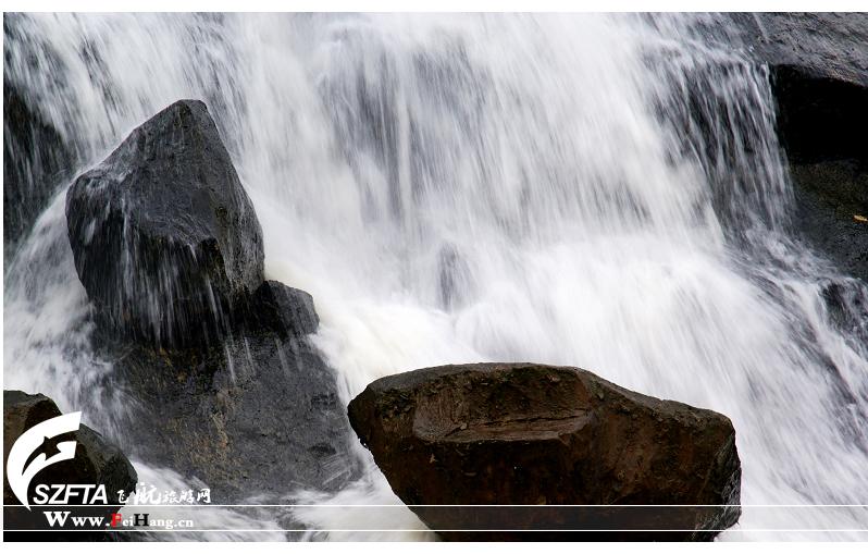 东部华侨城大峡谷瀑布