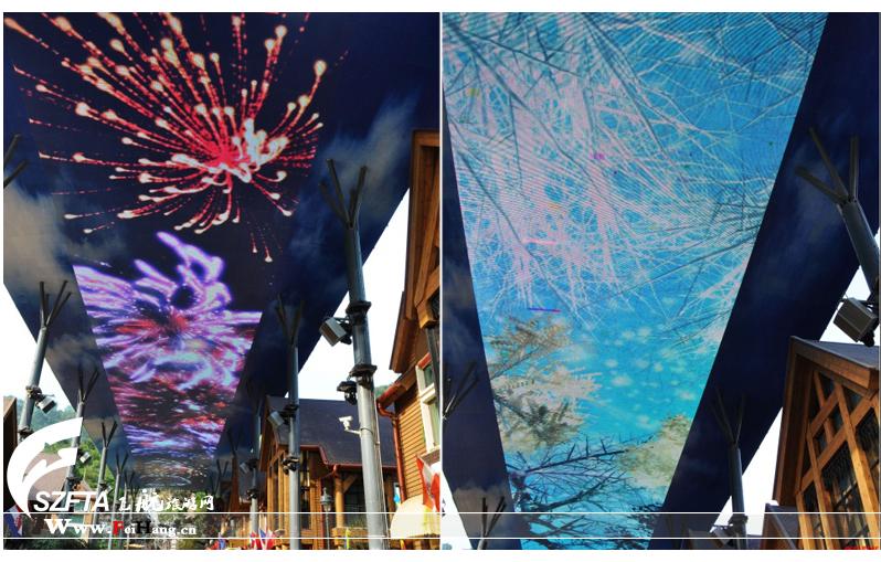 华桥城天街LED屏幕