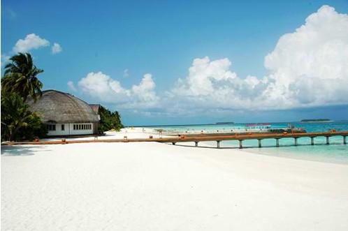 马尔代夫圆月岛
