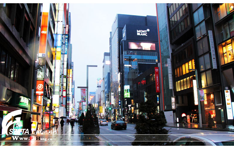 日本东京银座