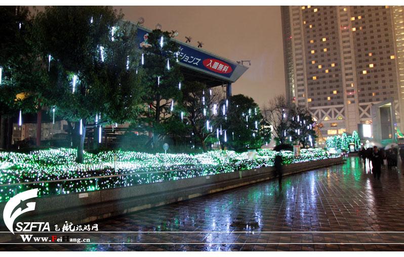 日本国立棒球馆夜景